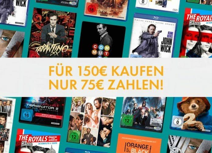 50% Rabatt auf über 1.300 Titel inkl. 4K Blu-rays!