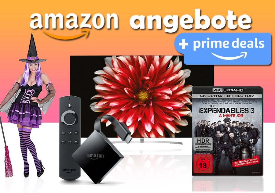 amazon angebote prime deals halloween uvm 4k filme. Black Bedroom Furniture Sets. Home Design Ideas
