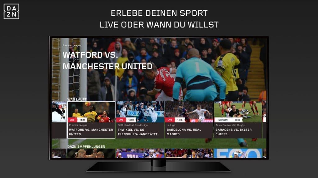 Streaming-Anbieter DAZN sichert sich die komplette UEFA Europa League zum größten Teil exklusiv!