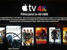 iTunes 4K Filme und Serien