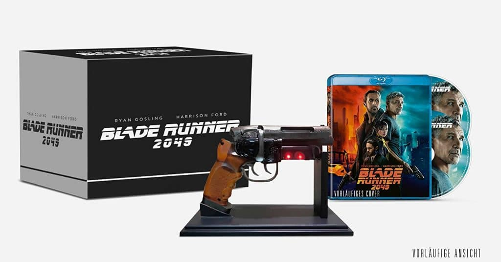 Limitierte Blu-ray Edition inkl. Replika eines Deckard Blaster (nur auf Amazon.de)