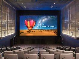 "Samsung ""Cinema LED Screen"" Kinoinstallation in Thailands Hauptstadt Bangkok"