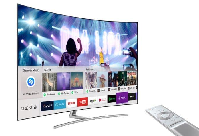 Shazam erkennt Musikstücke auf Samsung Smart TVs