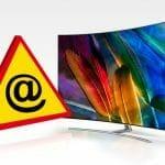 Bis auf weiteres gibt es keine Warnhinweise für internetfähige Smart-TVs