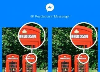 Facebook geht mit der Zeit. Bald können 4K Bilder über den Messenger übertragen werden