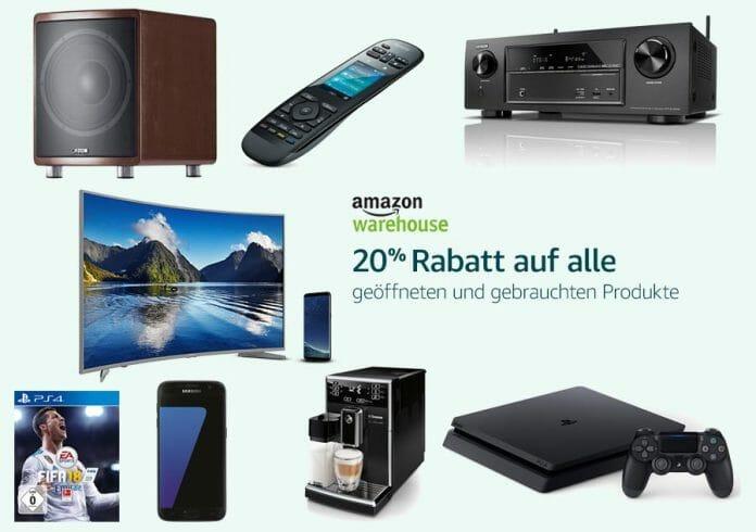 Amazon Warehouse Deals: 20% auf bereits reduzierte Artikel!