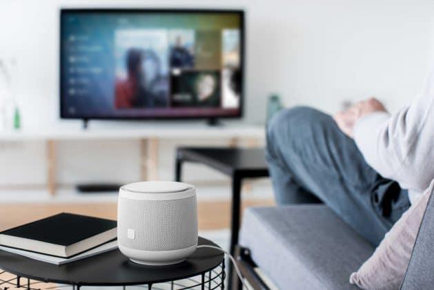 """""""Hallo Magenta"""". Der Smart-Lautsprecher der Telekom soll verschiedenste Dienste des Unternehmens sowie Geräte anderer Hersteller unterstützen."""