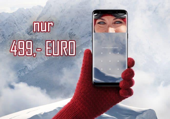 Samsung Galaxy S8 für nur 499 Euro (599,- Euro minus 100 Euro Direktabzug)