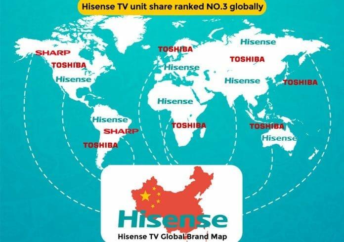 Hisense übernimmt die TV-Sparte von Toshiba. Was bedeutet das für das Europa-Geschäft?
