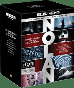 So wird die Nolan 4K Blu-ray Collection Box aussehen