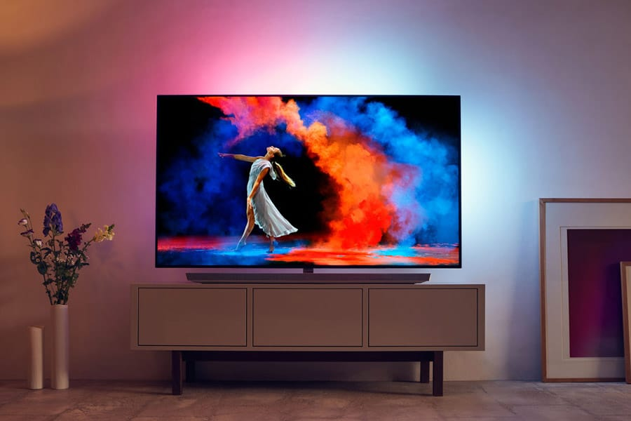 philips oled 973 mit 65 zoll erscheint im fr hjahr 2018 4k filme. Black Bedroom Furniture Sets. Home Design Ideas