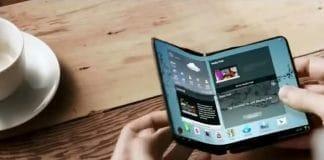Das Samsung Galaxy X könnte das erste faltbare Smartphone werden.