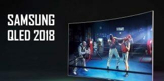 """Samsung QLED 2018 mit """"Q Contrast Elite"""" und """"Direct Full Array Elite"""" (Abbildung: Q8C)"""