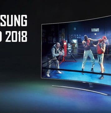 "Samsung QLED 2018 mit ""Q Contrast Elite"" und ""Direct Full Array Elite"" (Abbildung: Q8C)"