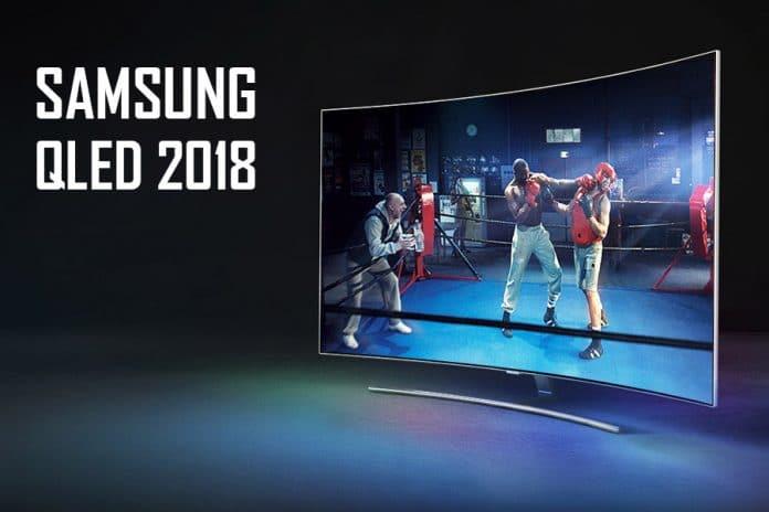 Samsung QLED 2018 mit