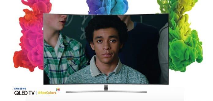 Die SeeColors App erlaubt es Menschen mit Farbsehstörungen Farben auf Samsungs QLED TVs richtig zu sehen