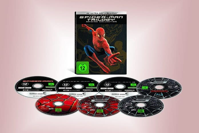 Spider-Man Trilogie: Origins Collection 4K Blu-ray