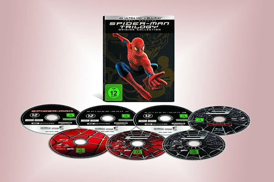 Sony veröffentlicht limitierte Spider-Man Trilogie auf 4K UHD Blu-ray
