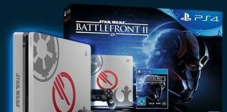 Playstation 4 im Star Wars Battlefront 2-Design (limitiert) inkl. Spiel nur heute für 299,- Euro!