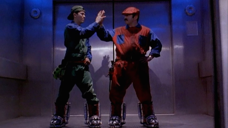"Screenshot aus dem Live-Action-Film ""Super Mario Bros"" von 1993"
