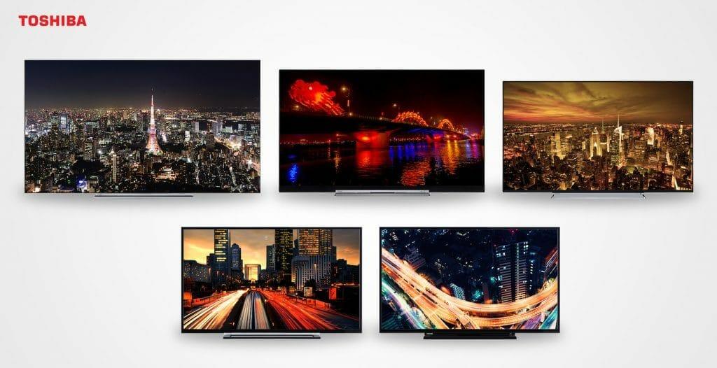 Toshibas TV-Lineup von 2017 bietet bestmöglichen Datenschutz
