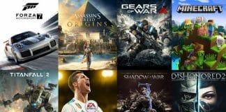 """Diese Spiele sind """"Xbox One X verbessert"""" oder """"Enhanced"""" mit 4K Ultra HD und HDR"""