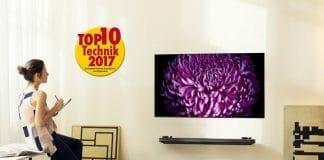 Der LG W7 OLED TV gehört lt. Bundesverband Technik des Einzelhandels e.V. (BVT) zu einem der angesagtesten Technik-Neuheiten in 2017