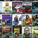 4K UHD Blu-rays teils drastisch reduziert auf Amazon.de