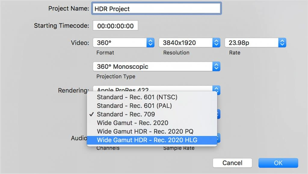 Apple Final Cut Pro 10.4 HDR
