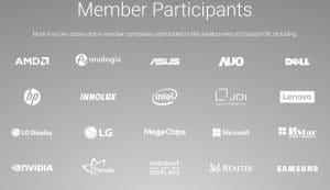 DisplayHDR: Diese Unternehmen sind beteiligt