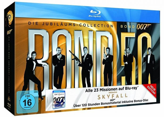 James Bond Collection Blu-ray Set
