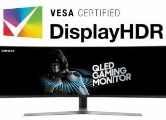Samsung QLED Gaming Monitor mit DisplayHDR
