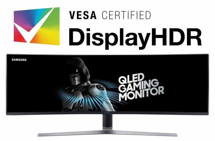 Samsung C49HG90 QLED: Gaming-Monitor erhält DisplayHDR ...