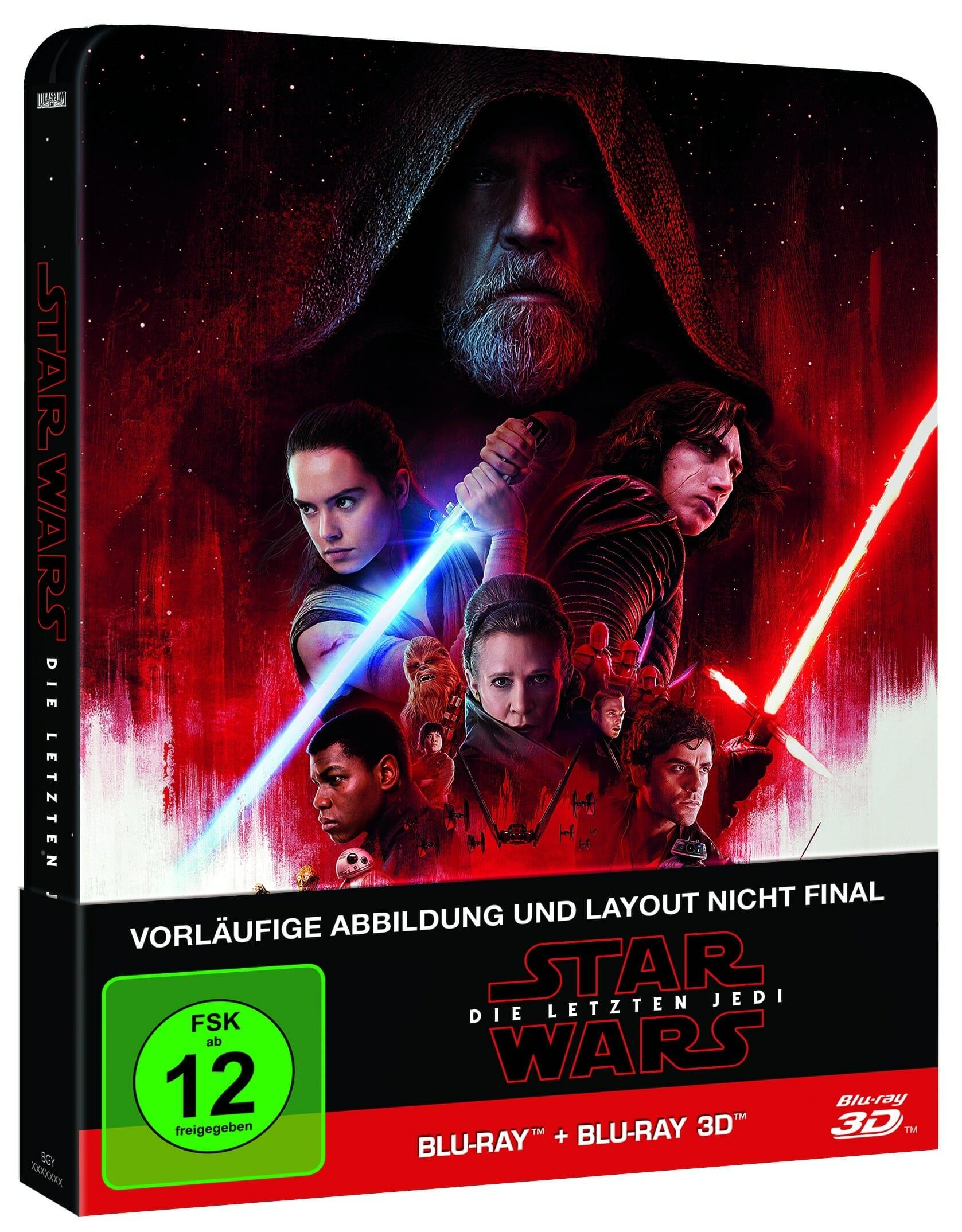 Star Wars Die Letzten Jedi Erscheint Auf 4k Uhd Blu Ray Update