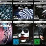 Deutsche Cover der Nolan-Filme auf 4K Blu-ray veröffentlicht