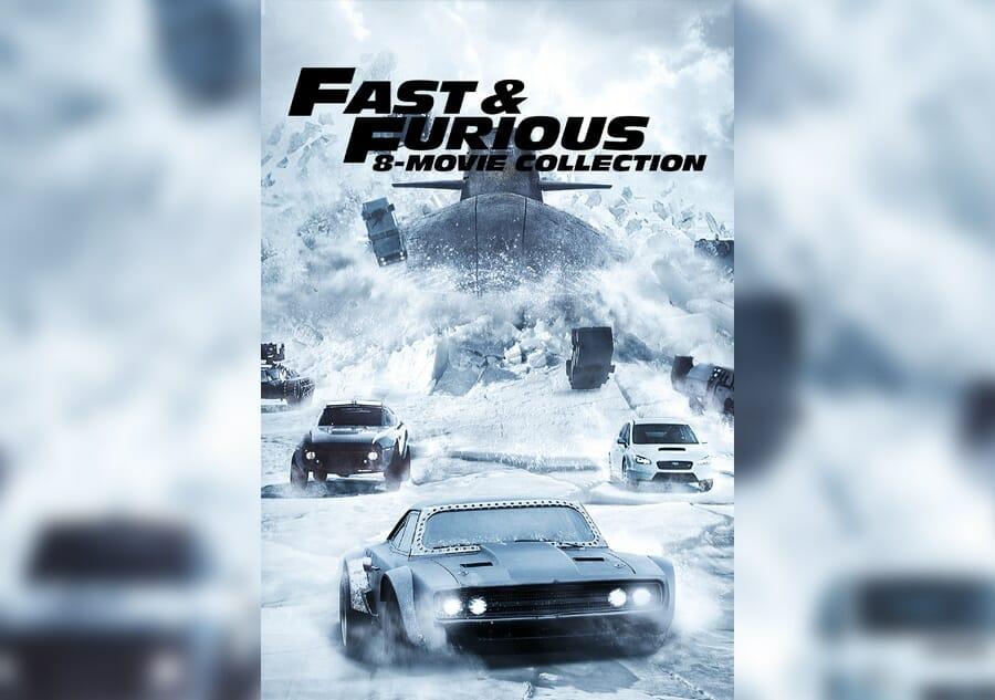 Fast And Furious 8 Film Collection Nur Heute Für 2999 Eur Auf
