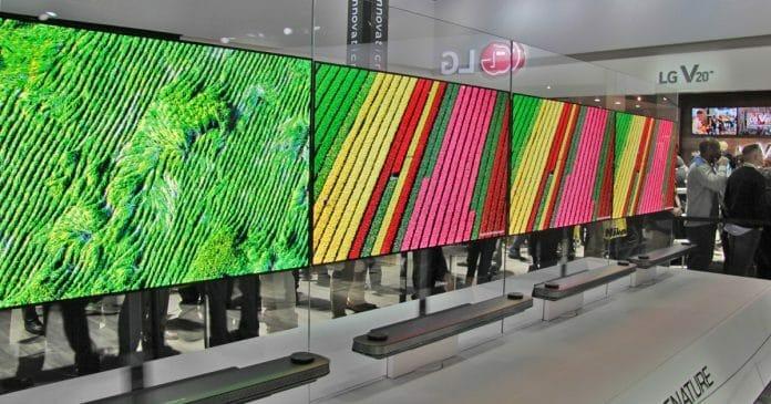 LG möchte bei der Produktion von großen OLED-Displays den Fokus wohl auf 65 und 77 Zoll legen