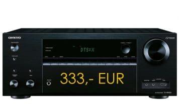 Onkyo TX-NR656 nur heute für 333,- EUR!