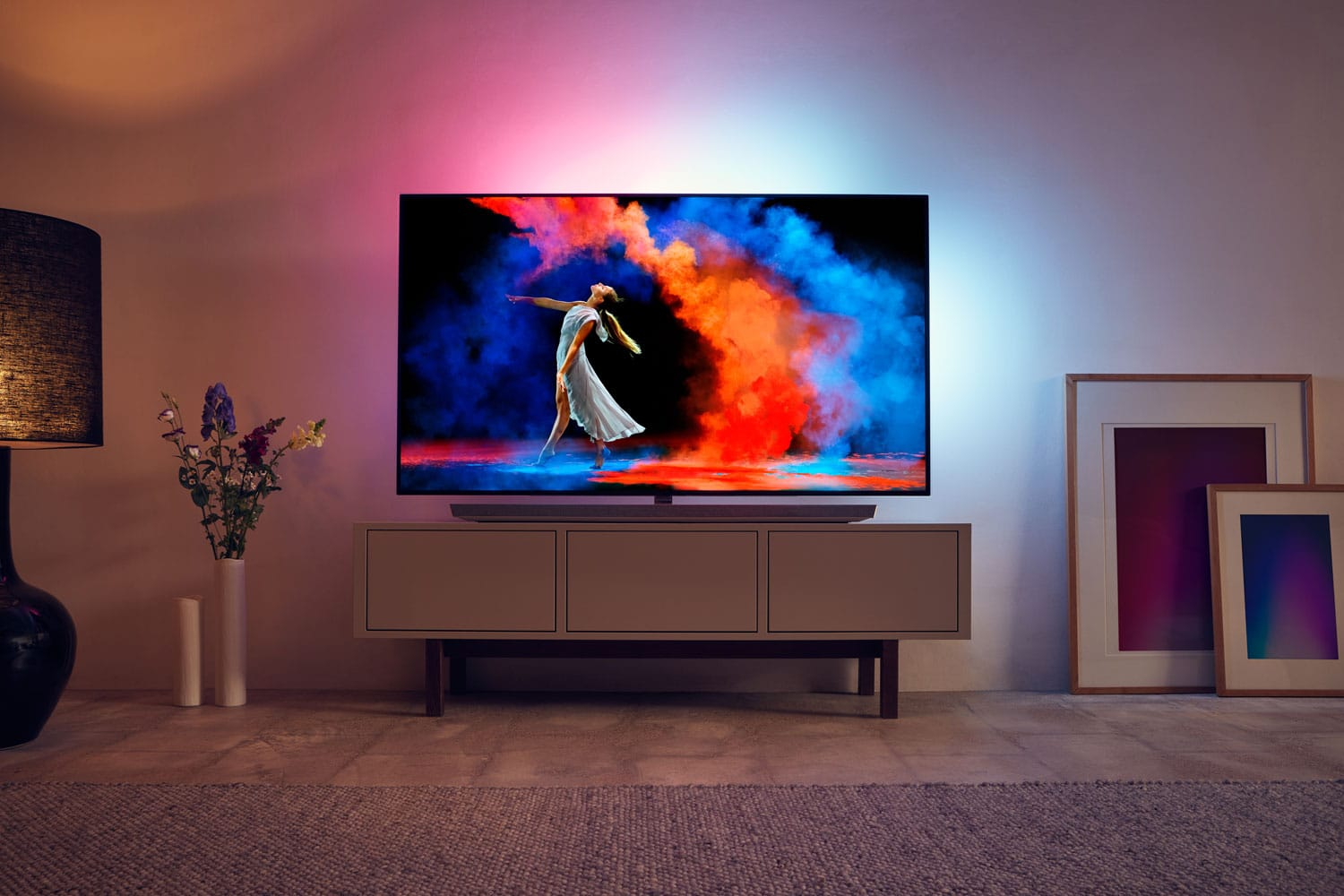 philips sechs oled fernseher und ein premium lcd in 2018. Black Bedroom Furniture Sets. Home Design Ideas