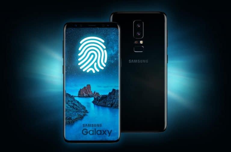 Hat es Samsung geschafft einen Fingerabdruck-Sensor in das AMOLED-Display zu integrieren? Bildquelle: letsgodigital.org