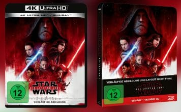 """""""Star Wars: Die letzten Jedi"""" erscheint auf 4K UHD Blu-ray! In nativer 4K Auflösung mit Dolby Vision?"""