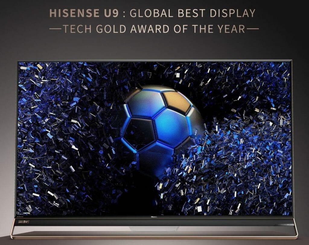 Hisense U9: Neues Spitzenmodell mit Dolby Vision