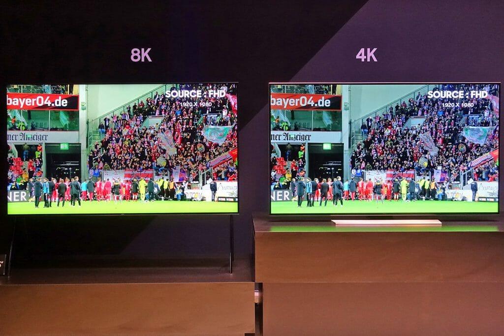 Der 8K Q Picture TV beeindruckt mit perfektem Schwarz, hohen Kontraste, einer klasse Farbdarstellung in einer detailreichen 8K Auflösung.
