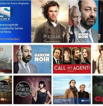 Amazon Sony Channel