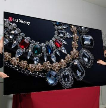 Bei LGs 88 Zoll 8K OLED handelt es sich bislang noch um einen Prototypen