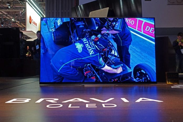 Sony AF8 OLED TVs auf der CES 2018 (KD-55AF8 & KD-65AF8)
