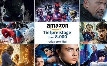 Amazon Tiefpreistage: Über 8.000 DVDs, Blu-rays und 4K Blu-rays reduziert