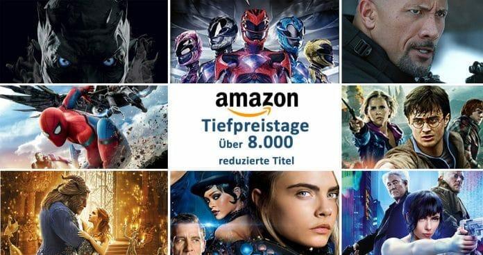 Amazon Tiefpreistage: Über 8.000 DVDs, Blu-rays und 4K Blu-rays reduziert