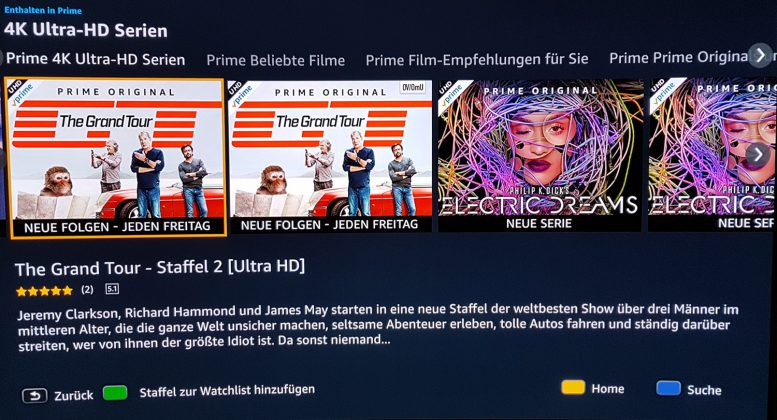 Amazon Prime Uhd Streaming