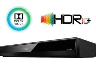 Der DP-UB824 ist der erste Player von Panasonic, der die dynamischen Metadaten von Dolby Vision und HDR10+ verarbeiten kann